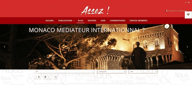 Enough Association Site Internet Page blog