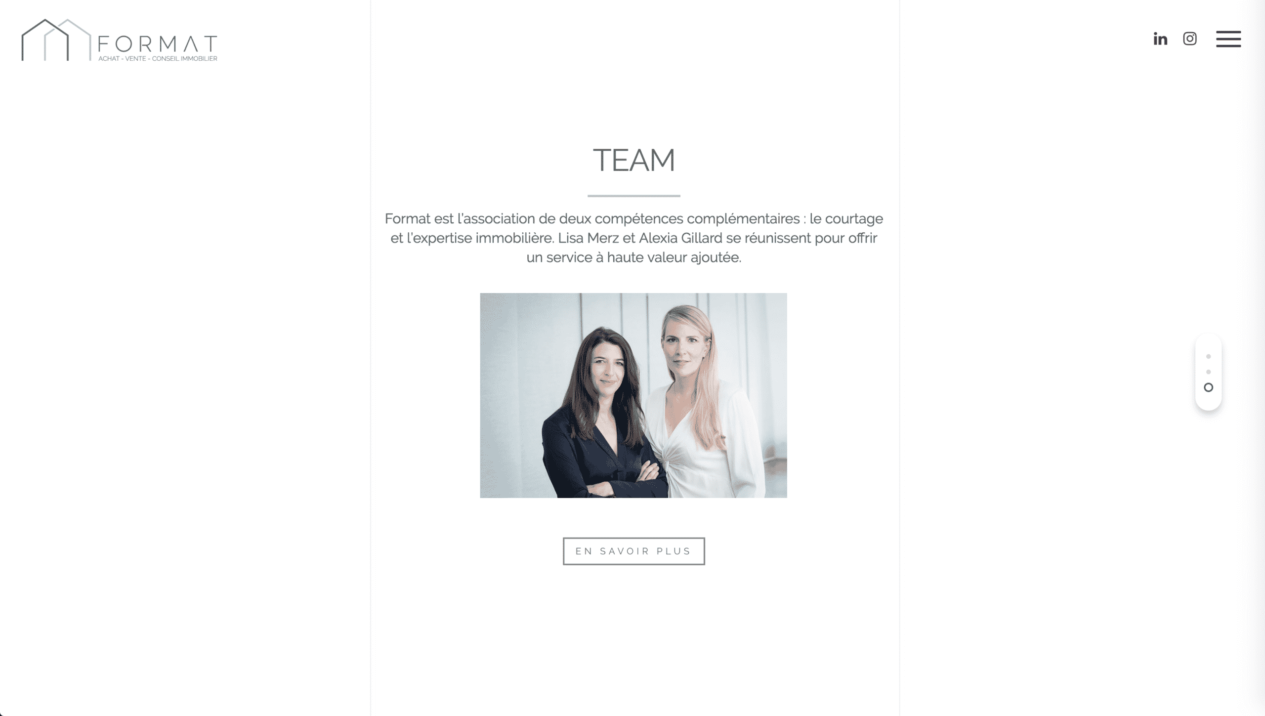 page team format