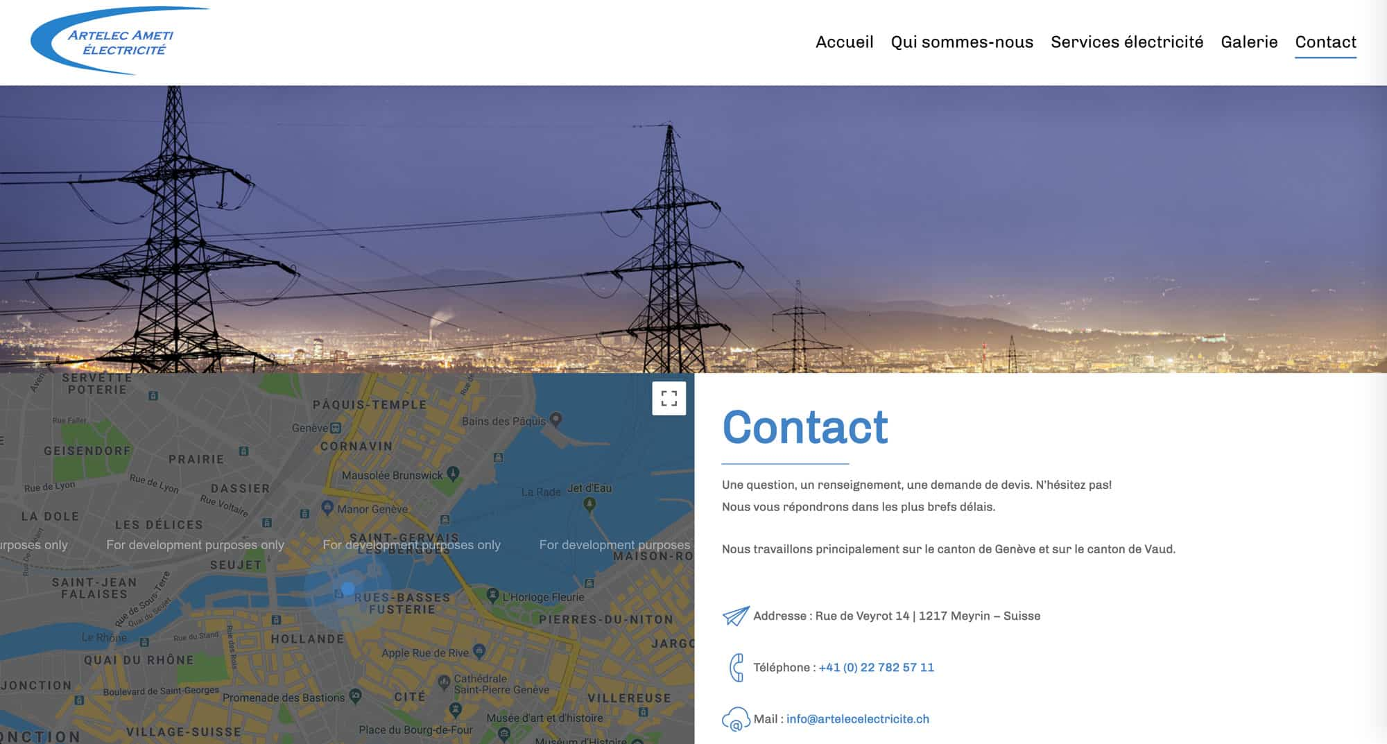 page contact AAT