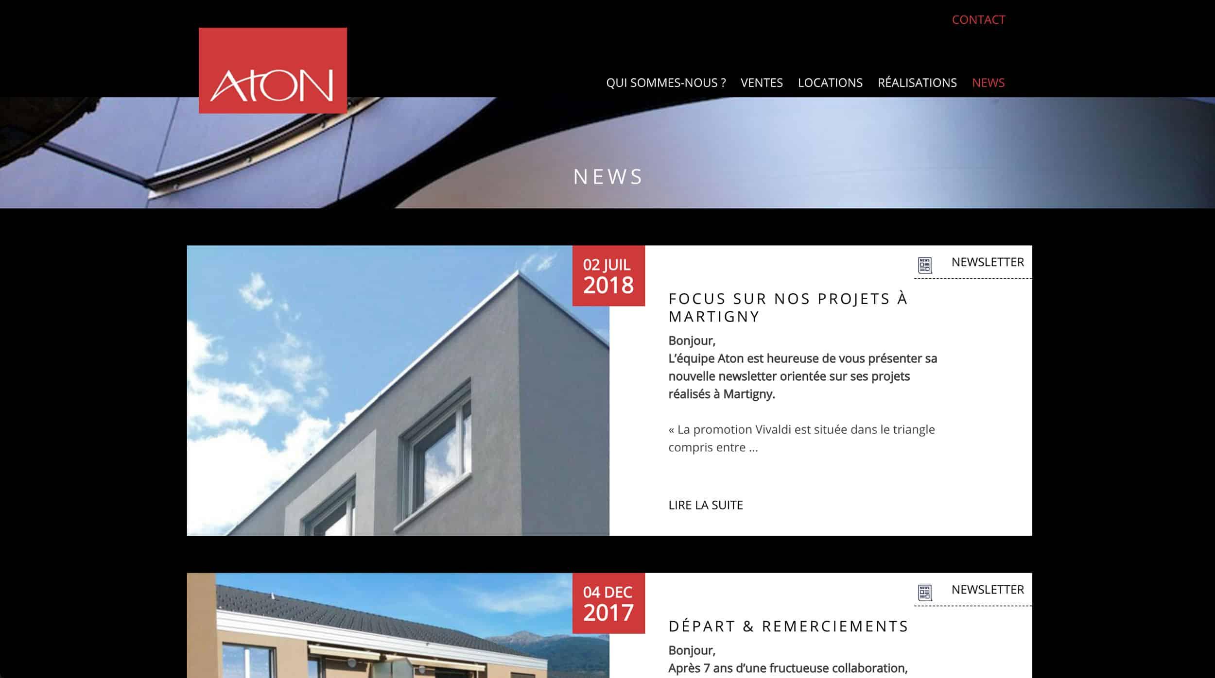page news Aton