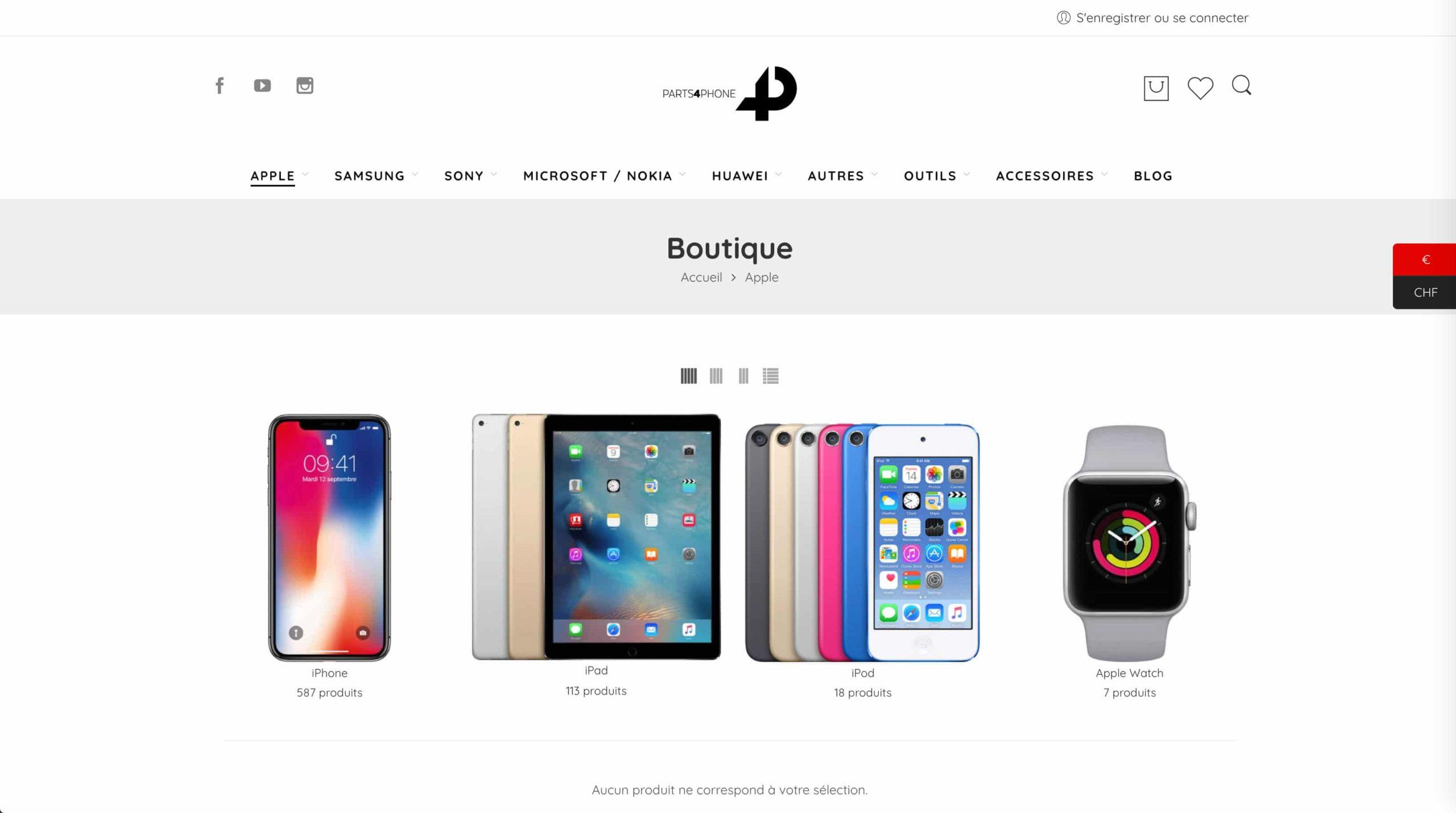 page apple phone