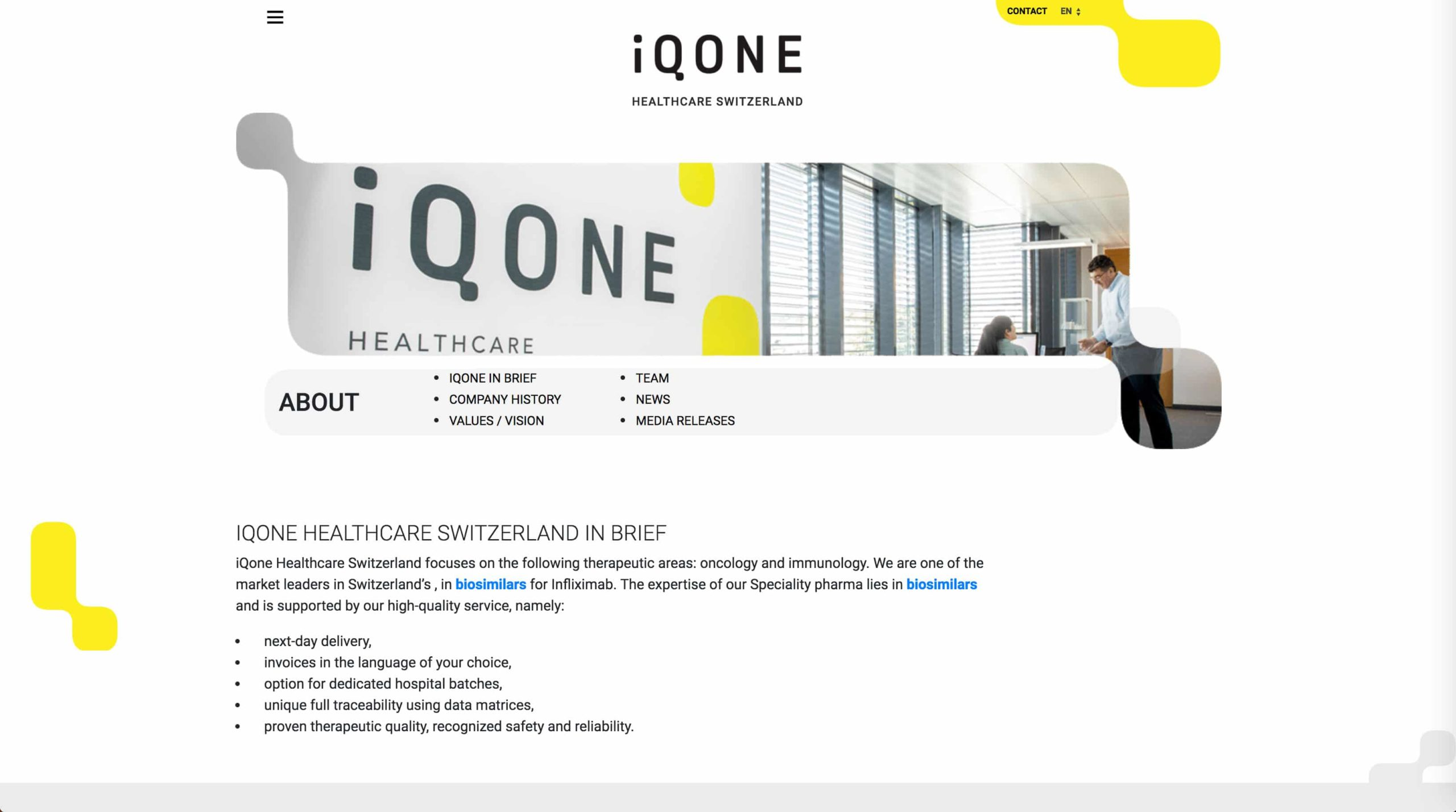 page about iqone