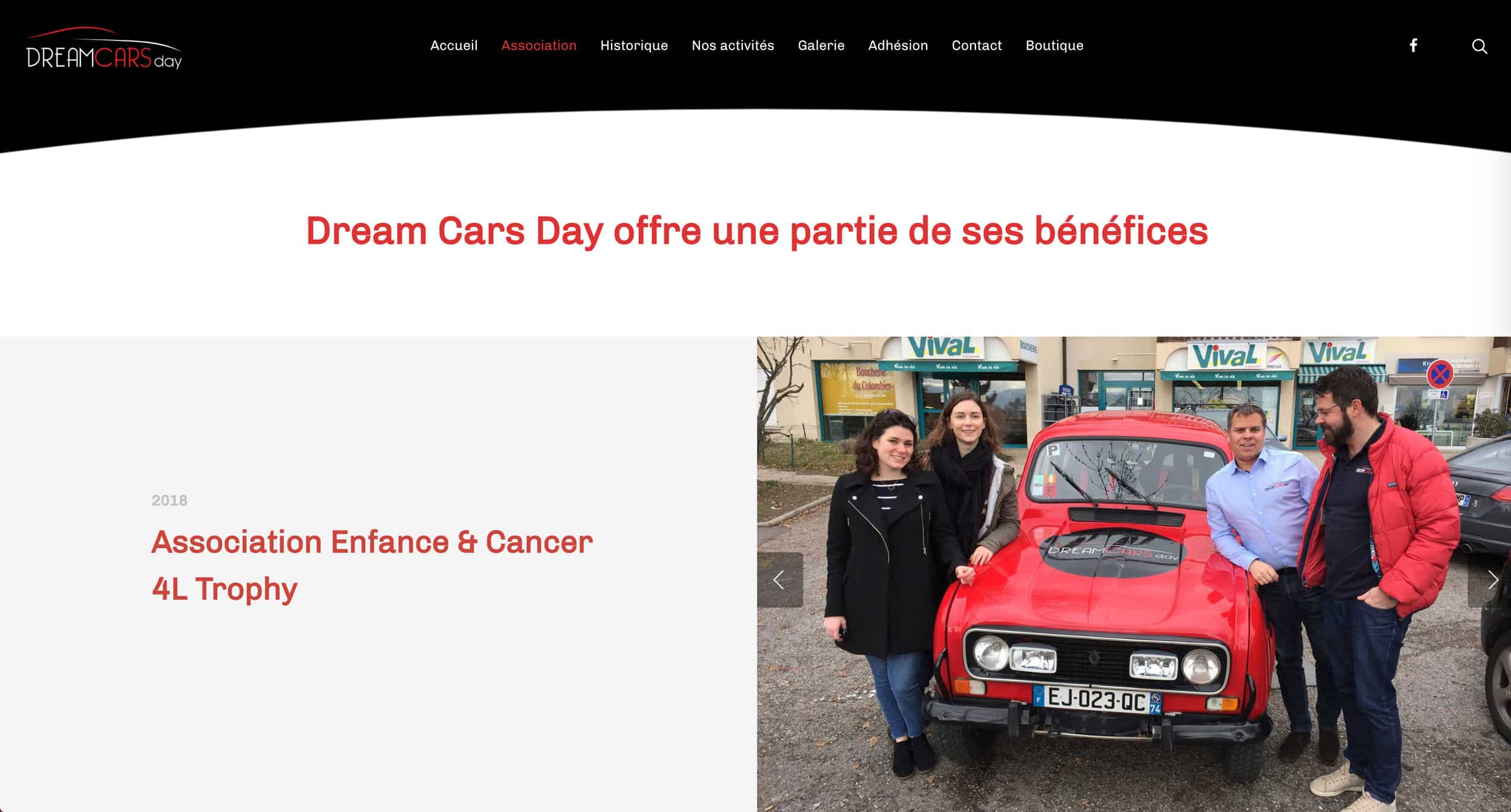page association dreamcars