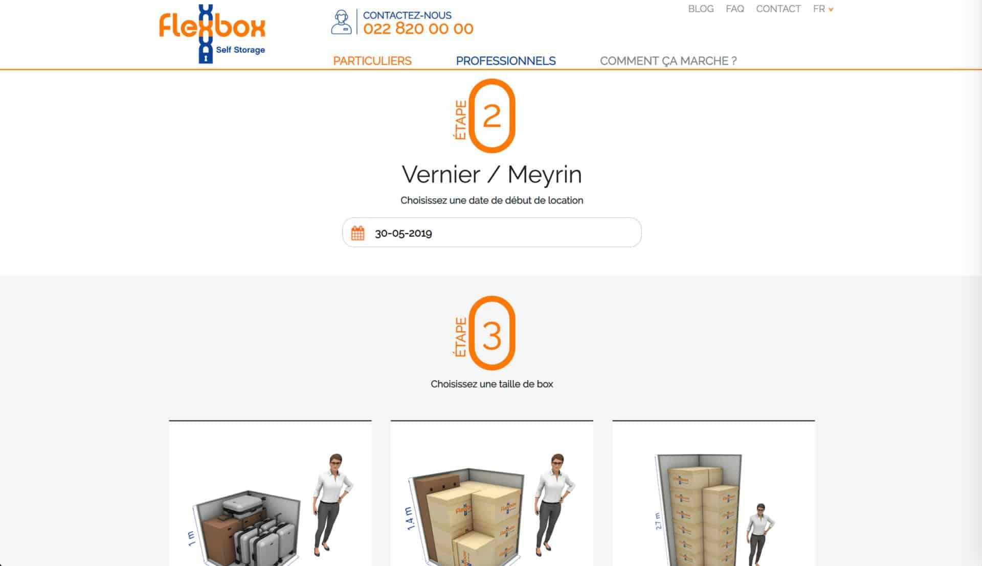 location box flexbox