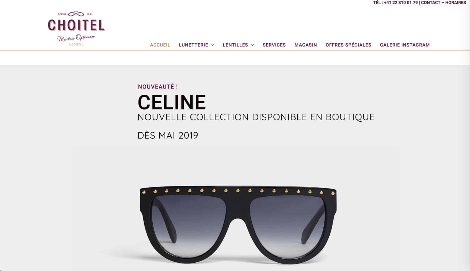 accueil site Choitel
