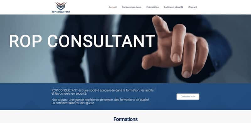 ROP Page accueil Site Internet