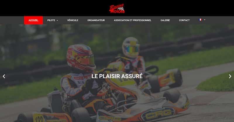Assurance Circuit page de garde le plaisir assure site vitrine
