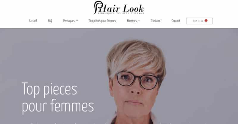 Hair Look top pieces pour femmes site e-commerce