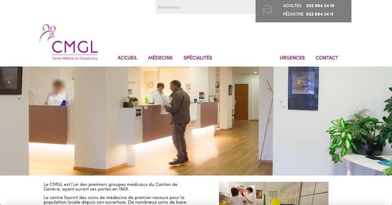 Centre Médical du Grand-Lancy site internet page qui sommes nous
