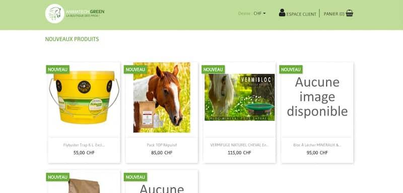 Cheval Santé Animatech green - Nos produits