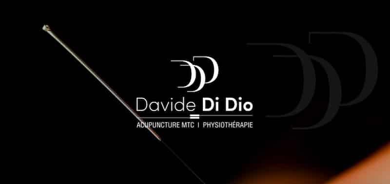 Davide de Dio accueil site internet vitrine